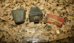 1940 1941 1942 1946 1947 Ford Truck Nos Rear Axle Bumper Grommets Pair @ Br