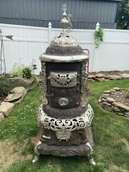 Parlor Stove - Antique - Detroit Stove Works - Jewel Stoves And Ranges - Obo