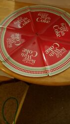 Things Go Better With Coke Plastic Pizza Plates