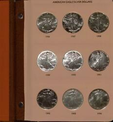 1986 To 2011 American Silver Eagle Collection   .999 Silver 1   26 Coin Ases