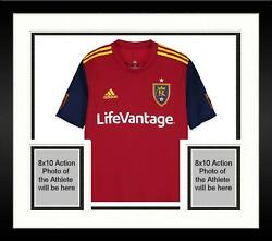 Frmd Shawn Barry Real Salt Lake Signed Mu Red Jersey Vs Lafc On March 10 2018