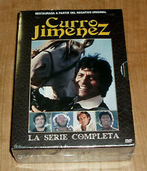 Curro Jimandeacutenez The Series Complete 14 Dvd New Sealed Restored Sleeveless Open R2
