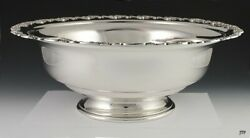 Huge Solid Sterling Silver Mueck-cary Co Serving Bowl