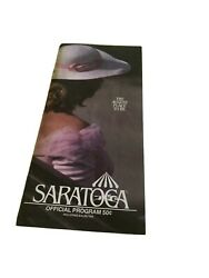 1990 Saratoga Program August 5 Fifth Day At The Track