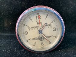 Rare Vintage 51,52,53 Oldsmobile Car Clock For Steering Wheel,motion Activated
