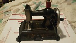 Antique 1920and039s Muller German Toy Sewing Machine Works
