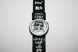Swatch Dope Cat Teenager Watch Me-how Pnb102 Swag Cah Bro And So On