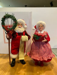 Dept 56 Possible Dreams Labor Of Love - Santa And Mrs Claus 6008565 New For 2021