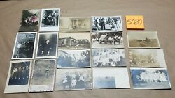 17 Antique Postcard Lot Children Family Rppc 1907 And Up Real Photo