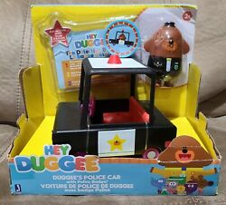 Hey Duggee Duggee's Police Car And Badge Retired New