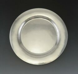 Antique C1923 Kalo Chicago Arts And Crafts Sterling Silver Plate Platter Tray 11