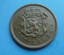 Luxembourg, 25 Centimes 1946, As Shown.