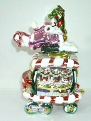 Blue Sky Clayworks Caboose Sculpture 2004 Christmas Collection