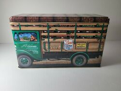 The Silver Crane Company Collectible Tin Apples Of France 1992 Delivery Truck