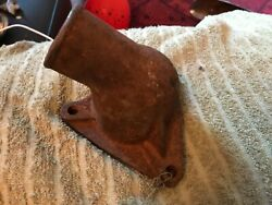 1949 1950 1951 Ford Car 6 Cyl Water Neck / Thermostat Housing Nos Cast 8ha