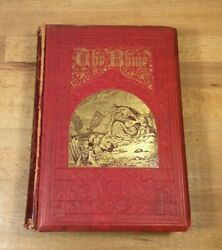 The Rhine History And Legends, Castles, Von Horn, Very Rare Antique Book, Fragile