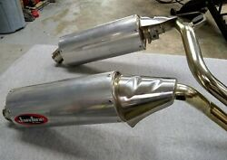 Triumph Speed Triple 2005-10 Used Jardine Exhaust System Rt-one Rt-1