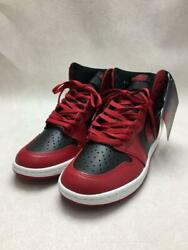 Nike  27cm Red Leather 1 High 85 Varsity Red Red Size 27cm Sneakers