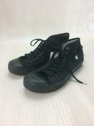 G-star Raw  29.5cm 9 Hall Shoes Brand Logo Black Size 29.5cm Sneakers