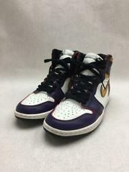 Nike Us10.5 Pup Leather 1 R High Og Defiant Purple Size 10.5 Sneakers