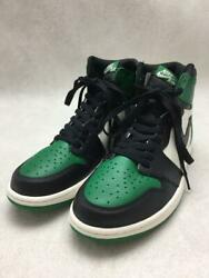 Nike 2018 1 R High Og Green 28cm Leather Green Size 28cm Sneakers From Japan