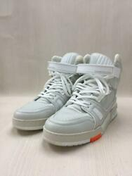 Louis Vuitton Lv Trainer Line   Uk8 Leather 1a5a0d White Size Uk 8 Sneakers