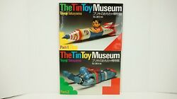 The Tin Toy Museum Part 1 And 2 Hardcover By Toyoji Takayama Color Reference W6