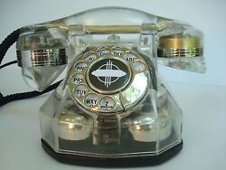 Antique Telephone Automatic Electric Monophone Ae34 Crystal Clear