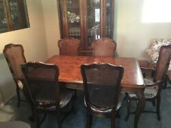 Vintage Century French Country Dining Set And Furniture - Excellent Condition