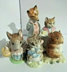 Bp1a 1b 2a Missing Beswick England Hand Stamps Beatrix Potter Figurine Lot Rare