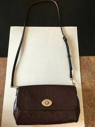 Coach Leather Crossbody red bag $29.95