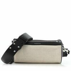 Burberry Barrel Crossbody Bag Canvas with Leather Small $1039.50