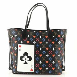 Louis Vuitton Neverfull Nm Tote Limited Edition Game On Multicolor Monogram Mm