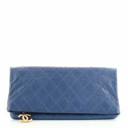 Thin City Clutch Quilted Calfskin Large