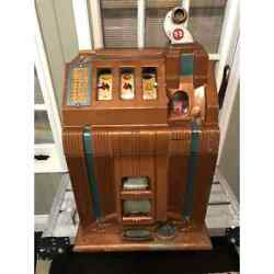 Antique Mills Novelty Co. Chicago Bell Fruit Gum 1910 Slot Machine-local Pu Only