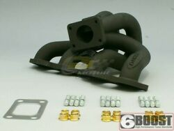 6boost High Mount Manifold For Nissan Sr20 Rwd T3 S/e Single Wastegate
