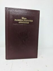 West's Florida Statutes Annotated 17b Sections 589 To 604