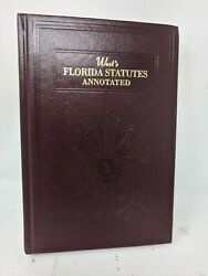 West's Florida Statutes Annotated 17a Sections 570 To 588
