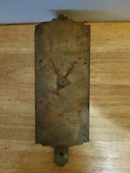 Antique Chatillon's Hanging Scale W/ Brass Plate Face, 30 Lbs, Dial Hand
