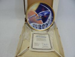 9 Star Trek The Hamilton Collection By Ernst Collector Plates All With Coa