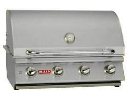 Bull Lonestar Select 30and039and039 Built-in Bbq Grill Lp For Outdoor Kitchen -87048
