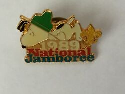 1989 National Scout Jamboree featuring Snoopy hat pin
