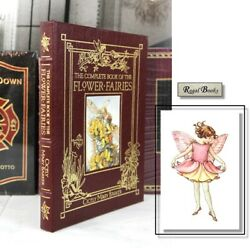Flower Fairies Complete Book - Easton Press Cicely Mary Barker - Rare