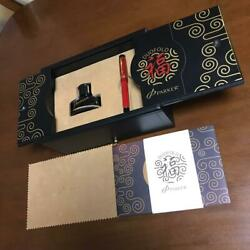 Limited Item Parker Duofold Fuku China Red Centennial Fountain Pen From Japan