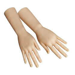 Durable Plastic Mannequin Hands Model For Jewelry Rings Watch Display