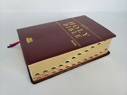 Alkitab Holy Bible New King James Version Leather Index Indonesia Indonesian