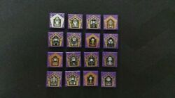 Lego Complete Set Of 16 Harry Potter Wizard Card Tiles - Same Day Shipping