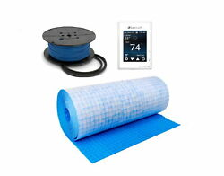 Suntouch Heat Kit Programmable Wifi Thermostat, Mapeheat Mat, Cable, Safe Tools