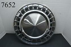 1958 58 Plymouth Fury Christine Belvedere Savoy 14 Hubcap Wheel Cover One
