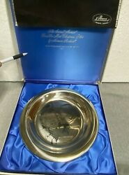 .1971 Franklin Mint Andldquonorman Rockwellandrdquo Sterling Silver Limited Edition Plate.